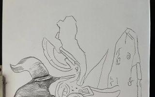石器时代乌贼系素描